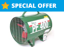 PF400 Industrial Fan Hire