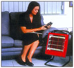 ceramic heater hire