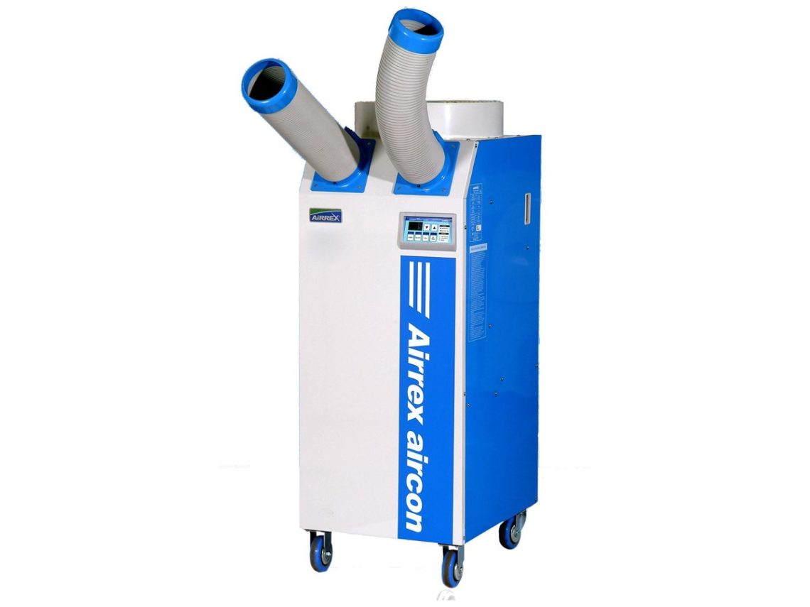 HSC2500 Portable Air Conditioner CAS Hire & Sales Cooler Air  #0050BB