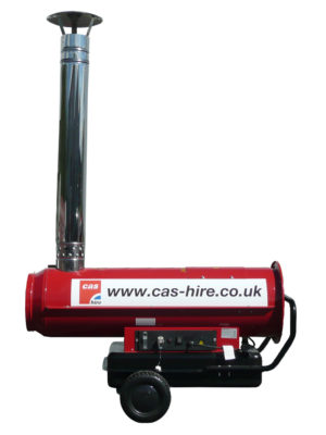 Indirect Diesel/Kerosene Fired Heater Hire