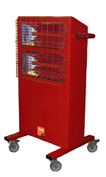 Ceramic/Infrared Heater Hire