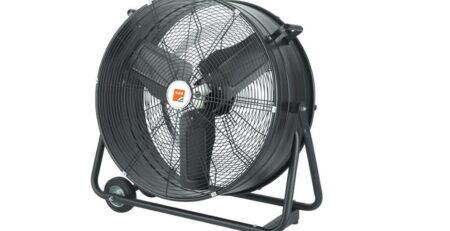 Industrial fan uses